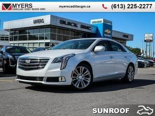 New 2019 Cadillac XTS Luxury  - Sunroof - Navigation for sale in Ottawa, ON
