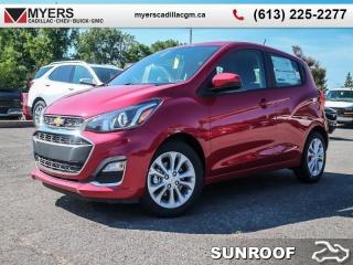 New 2019 Chevrolet Spark 1LT  - Sunroof - MyLink - OnStar for sale in Ottawa, ON