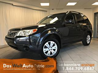 Used 2011 Subaru Forester 2.5 X, Gr. Électrique, A/C, Manuel for sale in Sherbrooke, QC