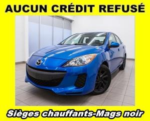 Used 2012 Mazda MAZDA3 AILERON MAGS NOIR *SIÈGES CHAUFFANTS* for sale in St-Jérôme, QC