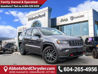 Used 2018 Jeep Grand Cherokee Trailhawk *ACCIDENT FREE* *LOCALLY DRIVEN* for sale in Abbotsford, BC