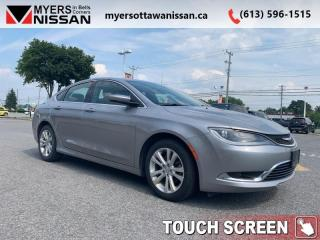 Used 2016 Chrysler 200 Limited  - UConnect -  Power Seat - $95 B/W for sale in Ottawa, ON
