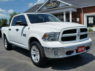 Used 2016 RAM 1500 Outdoorsman 4x4, NAV, Heated Seats/Wheel, Remote Start, Bluetooth, BAck Up Cam, Spray In Liner for sale in Paris, ON