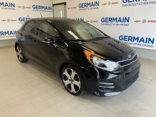 Used 2016 Kia Rio SX- CUIR- BANCS CHAUFFANTS- BLUETOOTH for sale in St-Raymond, QC