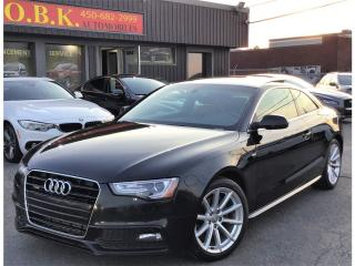 Used 2015 Audi A5 Progressiv-S LINE-NAVIGATION-CAM RECUL-TOIT-AWD for sale in Laval, QC