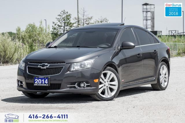 2014 Chevrolet Cruze RS LT LEATHERSUNROOF CERTIFIED SERVICED WE FINANCE