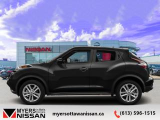 Used 2017 Nissan Juke SL  - Sunroof -  Navigation -  Leather Seats - $131 B/W for sale in Ottawa, ON