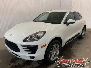 Used 2015 Porsche Macan S AWD GPS Cuir Toit panoramique MAGS Caméra for sale in Shawinigan, QC