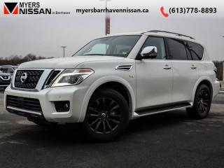 Used 2019 Nissan Armada Platinum  - Cooled Seats -  Sunroof - $464 B/W for sale in Nepean, ON