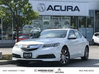Used 2015 Acura TLX 2.4L P-AWS 8 Sp Dual Clutch, Backup Cam, Heated Seats for sale in Markham, ON