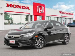 Used 2018 Honda Civic SE Sold Pending Customer Pick Up..Reverse Assist Camera, Bluetooth and More! for sale in Waterloo, ON