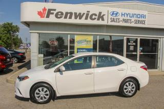 Used 2014 Toyota Corolla 4-door Sedan CE 4A for sale in Sarnia, ON