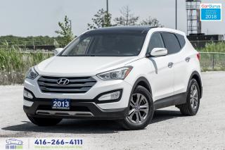 Used 2013 Hyundai Santa Fe AWD LeatherPanoroof NoAccident Certified WeFinance for sale in Bolton, ON