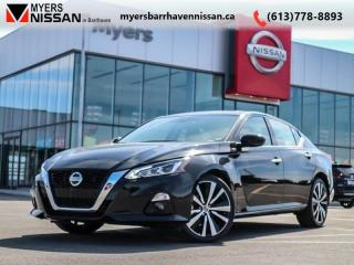 Used 2019 Nissan Altima Platinum  - Leather Seats -  ProPilot - $252 B/W for sale in Nepean, ON