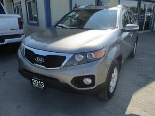 Used 2013 Kia Sorento FAMILY MOVING LX MODEL 7 PASSENGER 3.6L - V6.. BENCH & THIRD ROW.. HEATED SEATS.. AUX/USB INPUT.. BLUETOOTH SYSTEM.. for sale in Bradford, ON