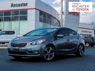 Used 2015 Kia Forte EX - 1 OWNER|BACKUP CAMERA|BLUETOOTH|HEATED SEATS for sale in Ancaster, ON