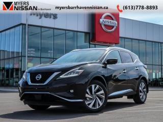 New 2019 Nissan Murano SL AWD  - Navigation -  Sunroof - $281 B/W for sale in Nepean, ON