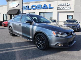 Used 2014 Volkswagen Jetta TDI HIGHLINE 21 KM. NAVIGATION LEATHER ROOF. for sale in Ottawa, ON
