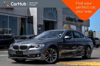 Used 2016 BMW 5 Series 535i xDrive|Sunroof|H.K.Audio|GPS|Backup.Cam|Bluetooth|Heat.Frnt.Seats| for sale in Thornhill, ON