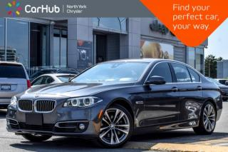 Used 2016 BMW 5 Series 535i xDrive|Sunroof|HUD|Bluetooth|GPS|Heat.Seats|SiriusXM| for sale in Thornhill, ON