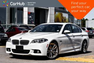 Used 2016 BMW 5 Series 535i xDrive|M.Sports.Pkg|Sunroof|GPS|H.K.Audio|HUD|Bluetooth| for sale in Thornhill, ON