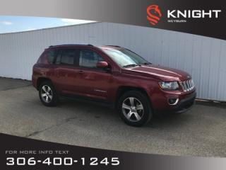 Used 2017 Jeep Compass High Altitude Edition | Backup Camera | Bluetooth | Heated Seats for sale in Weyburn, SK