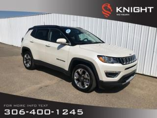 Used 2018 Jeep Compass Limited | Heated Seats & Steering Wheel | Backup Camera | Bluetooth for sale in Weyburn, SK
