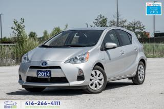 Used 2014 Toyota Prius c CleanCarfax1OwnerCertifiedWarrantyServicedFinance for sale in Bolton, ON