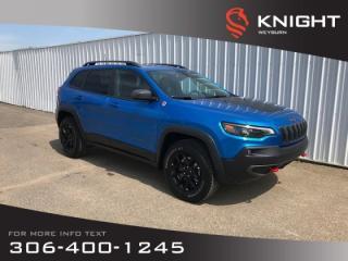 Used 2019 Jeep Cherokee Trailhawk Elite  | Backup Camera | Bluetooth | Heated Seats & Steering Wheel for sale in Weyburn, SK