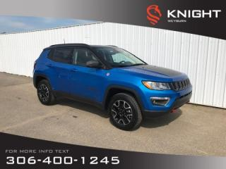 Used 2019 Jeep Compass Trailhawk | Backup Camera | Bluetooth | Heated Seats & Steering Wheel for sale in Weyburn, SK