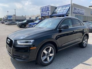 Used 2015 Audi Q3 2.0T Progressiv NO ACCIDENT|PANOROOF|BLUETOOTH|ALLOYS for sale in Concord, ON