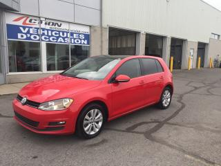 Used 2017 Volkswagen Golf HIGHLINE TDI+TOIT+CUIR for sale in St-Hubert, QC