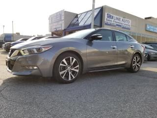Used 2016 Nissan Maxima SV 1 OWNER|NAVIGATION|BACKUP CAMERA|LEATHER|HEATED SEATS|CERTIFIED|ALLOYS| for sale in Concord, ON