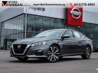 Used 2019 Nissan Altima Platinum  - Leather Seats -  ProPilot - $253 B/W for sale in Nepean, ON
