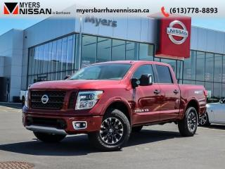 Used 2019 Nissan Titan PRO-4X  - Navigation -  Pro-4X - $354 B/W for sale in Nepean, ON