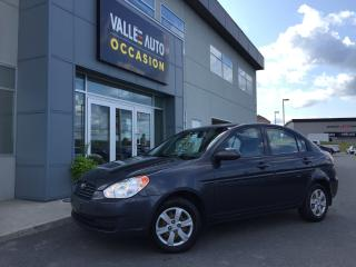 Used 2009 Hyundai Accent 2009 Hyundai Accent - 4dr Sdn Man L for sale in St-Georges, QC