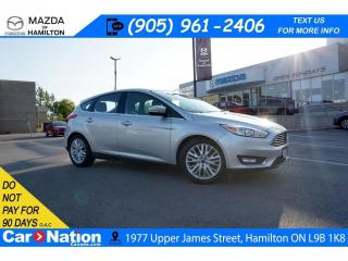 Used 2018 Ford Focus Titanium TITANIUM | SUNROOF | LEATHER | REAR CAM | XM RADIO for sale in Hamilton, ON