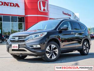 Used 2015 Honda CR-V Touring   *** LEATHER - - - NAVIGATION - - - NO ACCIDENTS  - - - ONE OWNER *** for sale in Milton, ON