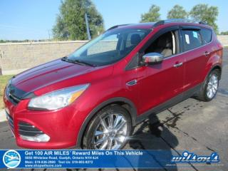 Used 2015 Ford Escape SE - LOW KM!! 4WD, Leather Trim, Navigation, Rear Camera, Bluetooth, Class ll Trailer Tow Package for sale in Guelph, ON