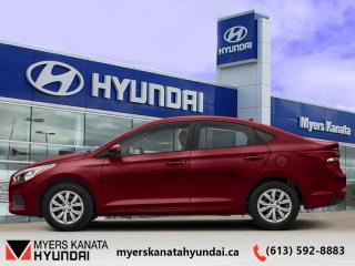 Used 2019 Hyundai Accent Preferred MT  - $109 B/W for sale in Kanata, ON