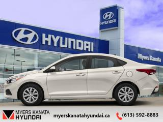 New 2019 Hyundai Accent Preferred MT  - $119 B/W for sale in Kanata, ON