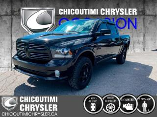 Used 2016 RAM 1500 Cabine muliplaces 4RM, 140,5 po Sport for sale in Chicoutimi, QC