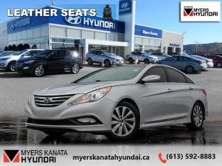 Used 2014 Hyundai Sonata LIMITED  - $87 B/W for sale in Kanata, ON
