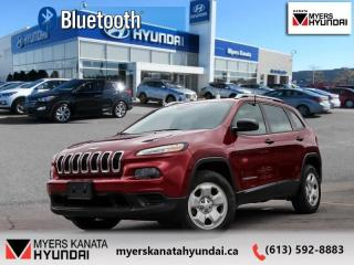 Used 2016 Jeep Cherokee Sport  - $136 B/W for sale in Kanata, ON