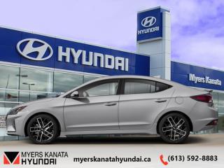New 2019 Hyundai Elantra Sport MT  - $140 B/W for sale in Ottawa, ON