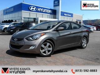 Used 2013 Hyundai Elantra GLS  - $71 B/W for sale in Ottawa, ON