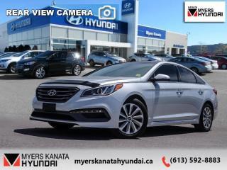 Used 2016 Hyundai Sonata Sport Tech  - $131 B/W for sale in Kanata, ON