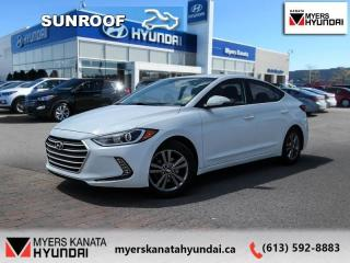 Used 2017 Hyundai Elantra SE  - $115 B/W for sale in Ottawa, ON