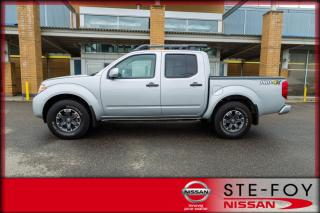 Used 2019 Nissan Frontier PRO-4X Crew cab Awd * Cuir * 15 612km * for sale in Ste-Foy, QC