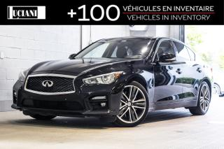 Used 2014 Infiniti Q50 2014 Infiniti Q50 - 4dr Sdn Sport AWD for sale in Montréal, QC